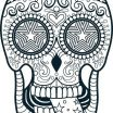 Skull Coloring Pages to Print Marvelous Skulls Coloring Pages – Vitalmethod