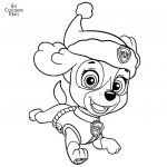 Skye Paw Patrol Printable Elegant Everest Plays with Skye and Rubble Coloring Page Paw Patrol