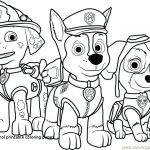 Skye Paw Patrol Printable Excellent Paw Patrol Coloring Pages Free In Paw Printable Alzenfieldwalk