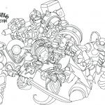 Skylander Coloring Pages to Print Elegant Skylanders Hot Dog Coloring Pages Printable – Kreater