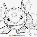 Skylander Coloring Pages to Print Wonderful Best Skylanders Coloring Page – Fansites