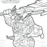 Skylander Images to Print Amazing Lovely Skylanders Trap Team Characters Coloring Pages – Nicho