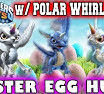 Skylanders Polar Whirlwind Inspirational Mom & Dad Play Battle Mode Variants Polar Whirlwind Scarlet