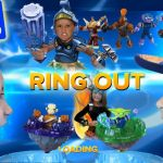 Skylanders Swap force Rubble Rouser Excellent Real Life Battle Mode Ring Out Frost Guard Battle Arcade by Mega