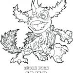 Skylanders Thorn Horn Camo Marvelous Skylander Images to Colour – Firststeppreschool