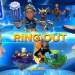 Skylanders Wind Up Amazing Real Life Battle Mode Ring Out Frost Guard Battle Arcade by Mega