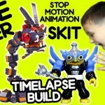 Skylanders Wind Up Best Skylanders Mega Bloks Fire Viper attack Timelapse Build & Skit