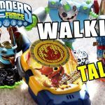Skylanders Wind Up Creative Skylanders Walkie Talkie Set Outside Unbox & Testing Fun Swap