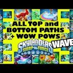 Skylanders Wind Up Elegant Skylanders Swap force 12 Wave 3 top & Bottom Swapper Paths 4