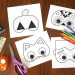 Smiley Face Mask Printable Awesome 72 Free Printable Halloween Masks for All Ages