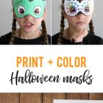 Smiley Face Mask Printable Beautiful Halloween Masks to Print and Color It S Always Autumn