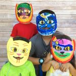Smiley Face Mask Printable Elegant Lily S Cat Mask Book Review & Craft Creating Creatives