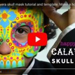 Smiley Face Mask Printable Exclusive Day Of the Dead Diy Pdf Printables Crafts Recipes and Activities…