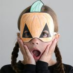 Smiley Face Mask Printable Inspiring Halloween Masks to Print and Color It S Always Autumn