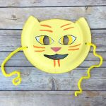 Smiley Face Mask Printable Pretty Lily S Cat Mask Book Review & Craft Creating Creatives