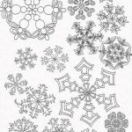 Snowflake Coloring Book Inspiration Printable Snowflake Coloring Picture for Adults