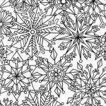 Snowflake Coloring Book Wonderful 725 Best Color This Images In 2019