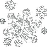 Snowflake Coloring Book Wonderful Snowflake Outline Template – theaniyagroup