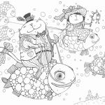 Snowman Coloring Page Awesome 40 Best Christmas Coloring Poster