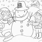 Snowman Coloring Page Awesome Snow Coloring Pages Elegant 56 Premium Snowman Coloring Pages to