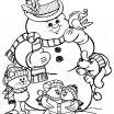 Snowman Coloring Page Best Of Christmas Coloring Pages Chrstms Coloring Pages