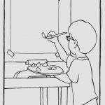 Snowman Coloring Page Inspirational Coloring and Painting toiyeuemz