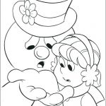 Snowman Coloring Page Inspirational Puzzle Coloring Sheet – Rosaartur