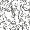 Snowmen Coloring Pages Wonderful Free Printable Christmas Coloring Pages Kids Elegant Awesome Free