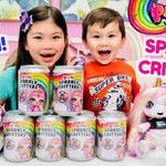 Soda Pop Shopkins Wonderful Kids toy Reviews Children Play Items
