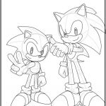 Sonic Coloring Games Excellent sonic Generations Coloring Pages