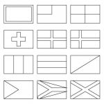 Spain Flag Coloring Sheet Awesome Printable Coloring Pages Of Flags Around the World World Flag