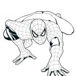Spiderman Coloring Pages Online Excellent Coloring Pages for Kids at Free Coloring Page for Funny Draw