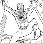 Spiderman Coloring Pages Online Exclusive Spider Man Color Page – Yggs