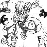Spiderman Coloring Pages Online Inspired Spiderman Coloring Pages Coloring Page Free Coloring Pages for