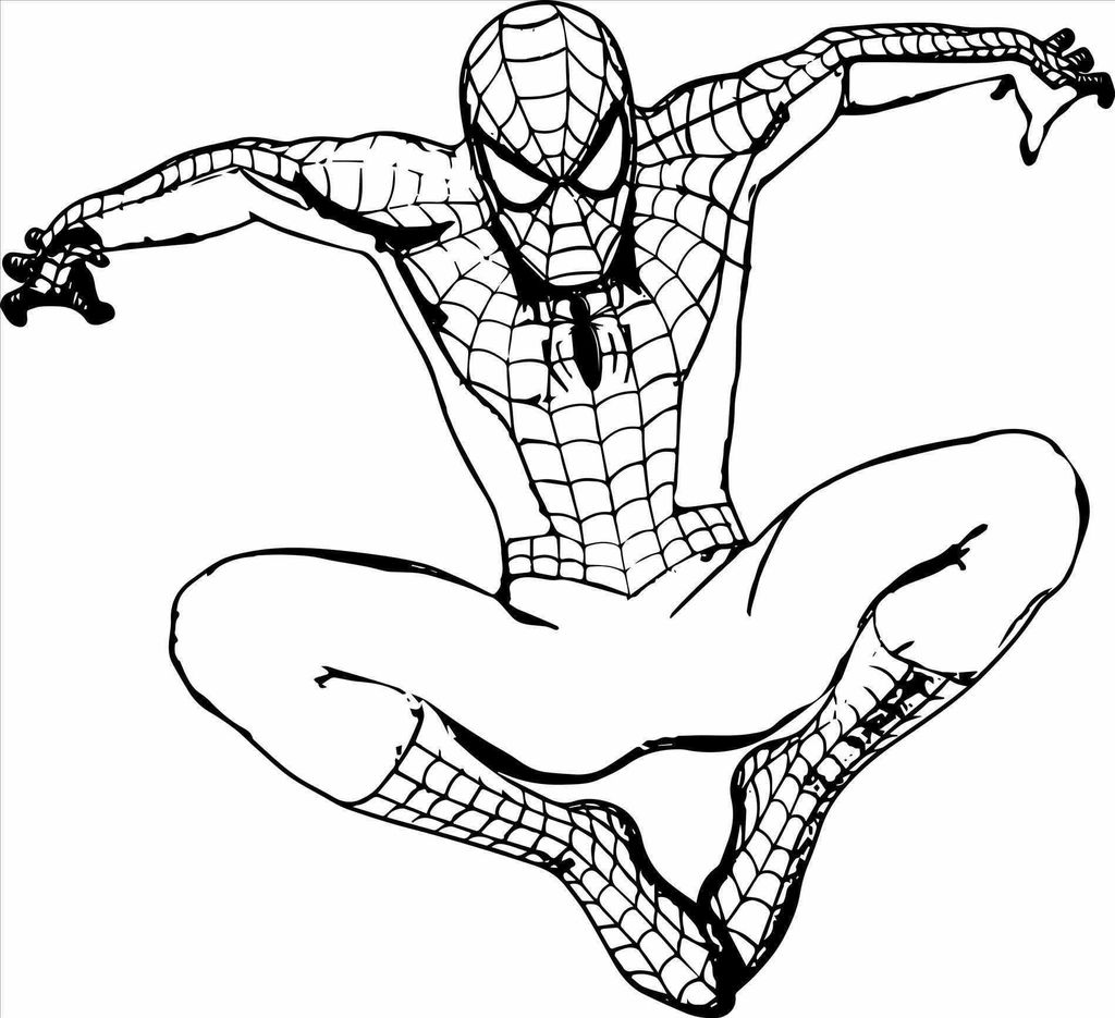 Awesome Coloring Pages Spiderman