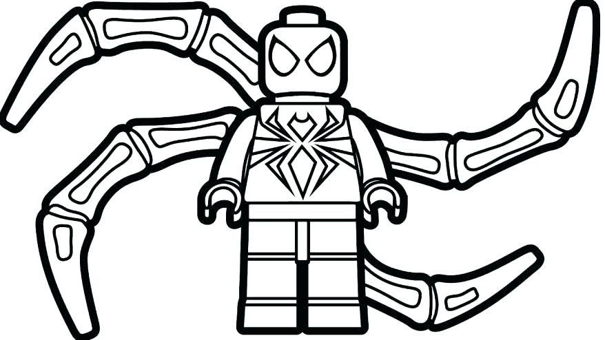 Spiderman Coloring Pages Pdf Beautiful Easy Spiderman Coloring Pages at Getdrawings
