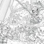 Spiderman Coloring Pages Pdf Excellent Marvel Coloriage Coloriage Avengers Coloring Pages Superheroes