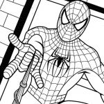 Spiderman Coloring Pages Pdf Excellent Spiderman Coloring Pages Printable Pdf