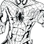 Spiderman Coloring Pages Pdf Inspired Spiderman Printable Coloring Pages Coloring Line Black Suit