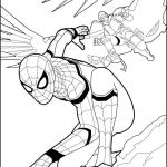 Spiderman Coloring Pages Pdf Marvelous Spiderman Coloring Page From the New Spiderman Movie Home Ing