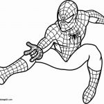 Spiderman Coloring Pages to Print Best Superhero Printable Coloring Pages