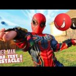Spiderman Pictures for Kids Amazing Spider Man Gear Test & Super Hero Obstacle Course Kids Challenge