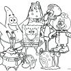 Sponge Bob Halloween Coloring Pages Inspired Sponge Bob Square Pants Drawing at Getdrawings