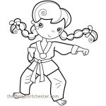 Sports Coloring Pages Elegant Karate Coloring Pages Luxury Dot Coloring Pages Best Nanostructured