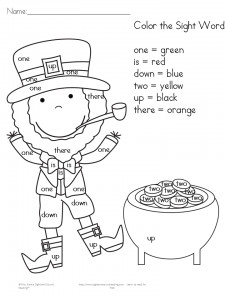 St Patrick Day Coloring Sheets Excellent 2 Free St Patrick S Day Worksheets for Kindergarten