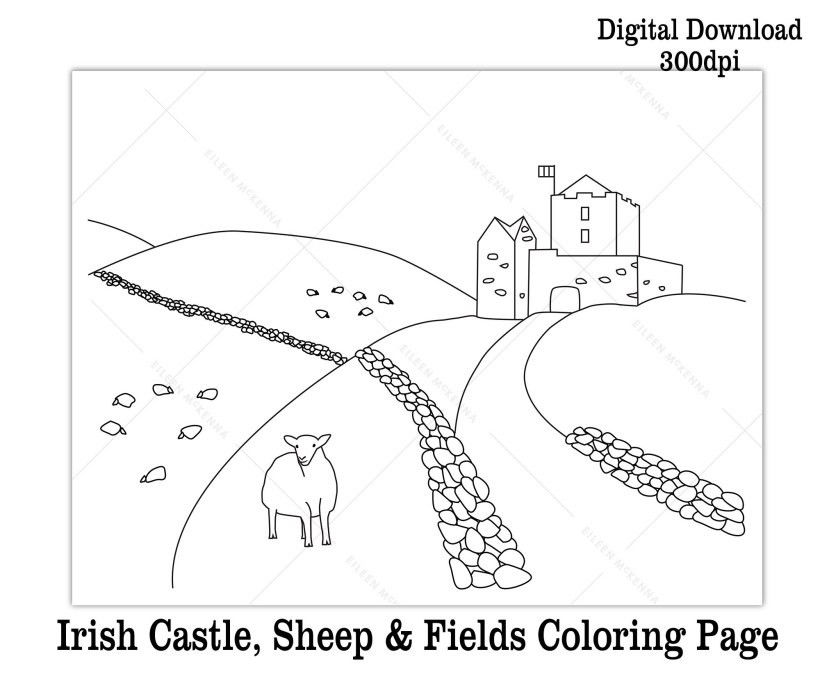 St Patrick Day Coloring Sheets Excellent Printable St Patrick S Day Coloring Pages and Book