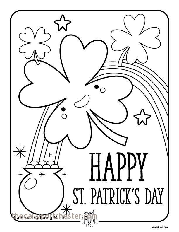 St Patrick Day Coloring Sheets Inspiring St Patricks Day Coloring Page Awesome Simple St Patrick Day Coloring