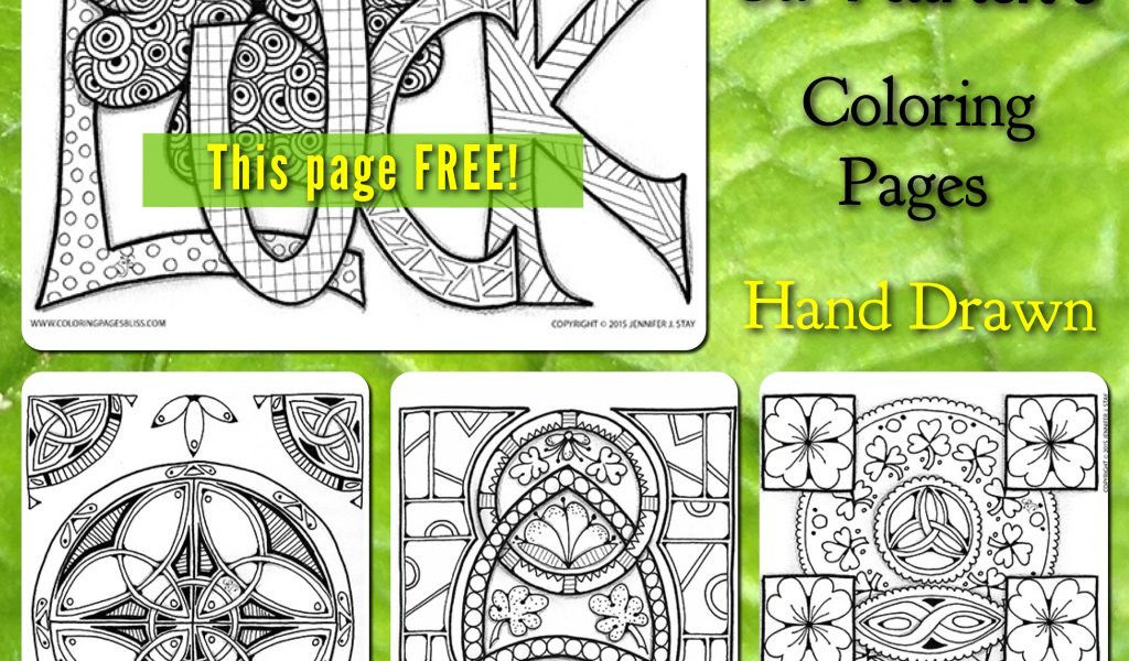 St Patrick Day Coloring Sheets Wonderful Fresh St Patrick S Gift – Free Coloring Book