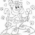 St Patricks Coloring Best Patrick Coloring Pages Lovely Kids Coloring Page Simple Color Page
