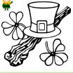 St Patricks Coloring Inspired March 17th is St Patrick S Day Have some Coloring Fun with the